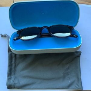 Warby Parker Downing brown oil downing sunglasses